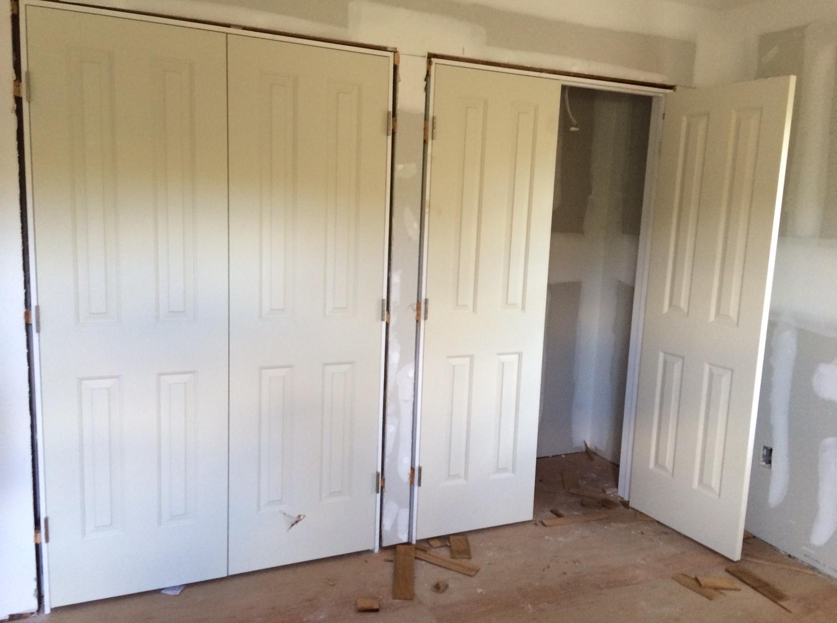 Updating Closet Doors September 2014 Salty Suburban Homestead